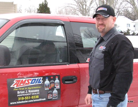 Photo of Brian Kessens, Independent AMSOIL Dealer, Cedar Rapids, Iowa